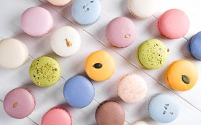 Картинка colorful, french, macaron, макаруны