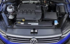 Картинка двигатель, Volkswagen, Passat, R-Line, Variant, 2019