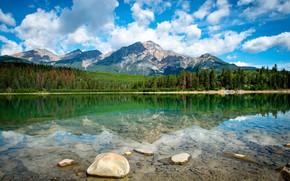 Картинка вода, пейзаж, горы, озеро