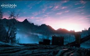 Картинка game, nature, mountain, horizon zero dawn