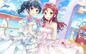 Картинка девушки, невесты, Love Live School Idol Project