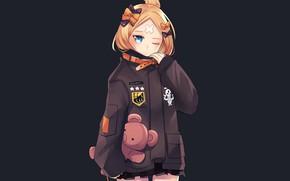 Картинка мишка, девочка, Fate / Grand Order, Судьба великая кампания