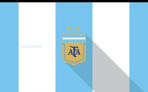 Картинка wallpaper, sport, logo, Argentina, football
