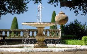 Картинка Италия, фонтан, вилла Барберини, Кастель-Гандольфо