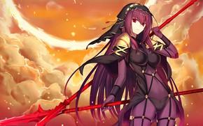 Картинка девушка, арт, копейщик, лансер, копья, Fate / Grand Order