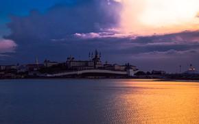 Картинка Небо, Россия, Казань, Цветокоррекция, Крмель