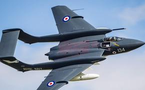 Картинка Истребитель, RAF, Royal Navy, Sea Vixen, de Havilland Aircraft Company, de Havilland DH.110 Sea Vixen