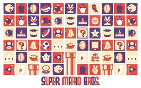 Картинка Mario, Super Mario Bros, adaptation to widescreen