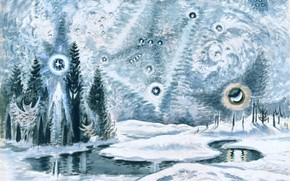 Картинка 1962, Charles Ephraim Burchfield, Orion in Winter