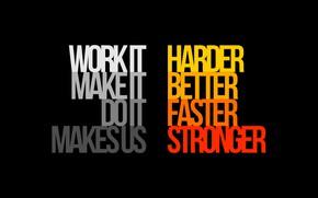 Картинка Музыка, Сердце, Стиль, Фон, Daft Punk, Thomas Bangalter, Faster, Дафт Панк, Better, Stronger, Песня, Guy ...