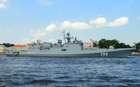Картинка фрегат, проект 11356, Адмирал Макаров