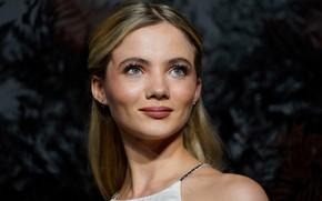 Картинка взгляд, девушка, лицо, актриса, Freya Allan