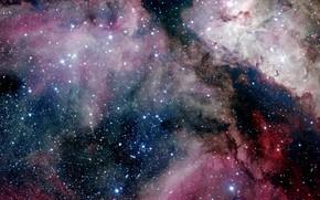 Картинка Stars, Nebula, NGC 3372, Great Nebula in Carina, Eta Carinae, Eta Carinae Nebula, The Carina …