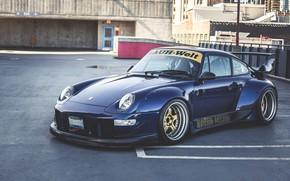 Картинка Porsche, 993, RWB, Porsche 993 RWB