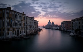 Картинка утро, Италия, Венеция