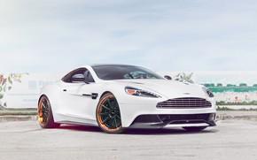 Картинка Aston Martin, V12, Vanquish, Wheels, Strasse