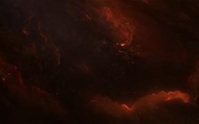 Картинка Звезды, Космос, Туманность, Fantasy, Арт, Stars, Space, Art, Фантастика, Nebula, StarkitecktDesigns, by StarkitecktDesigns, Purgatron Nebula