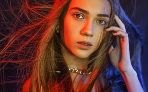 Картинка взгляд, девушка, лицо, Alexander Drobkov-Light, Anzhelika