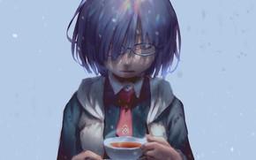 Картинка девушка, чашка, Mash Kyrielight, Fate / Grand Order