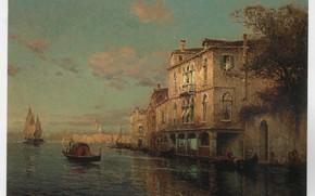 Картинка ALDINE, SAN MARCO IN, A VENITIAN SCENE WITH, THE DISTANCE
