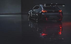 Картинка фары, Mazda, вид сзади, Mazda 3, 2020, TCR