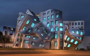 Картинка long exposure, architect Frank Gehry, Las Vega, Cleveland Clinic Lou Ruvo Center
