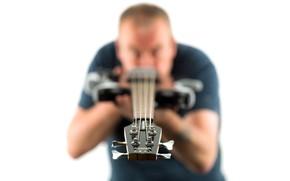 Обои фон, человек, гитара