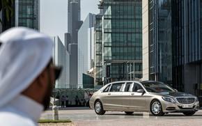Картинка City, Dubai, Pullman, Luxury, Vehicle, S600, Mercedes-Maybach