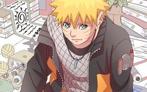 Картинка взгляд, Наруто, Naruto, Узумаки Наруто