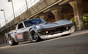 Картинка Corvette, Chevrolet, Race, Stingray