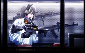 Картинка девушка, оружие, Girls Frontline, Девушки фронта