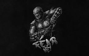 Картинка Боец, Art, Смертельная Битва, Mortal Kombat, Мортал Комбат, Персонаж, Characters, Noob Saibot, by Bogdan Timchenko, …