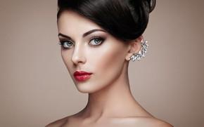 Картинка взгляд, девушка, стиль, портрет, макияж, прическа, красивая, Oleg Gekman