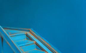 Картинка дом, стена, лестница