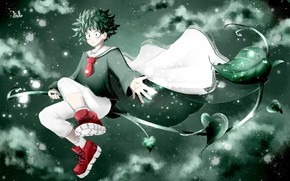 Картинка маг, My Hero Academia, Boku No Hero Academia, Мидория Изуку, Моя Геройская Академия
