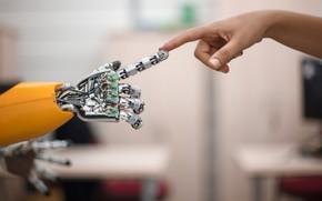 Картинка Future, новые технологии, Искусственный интеллект, Artificial Intelligence, robotics, Siemens, Artificial Intelligence Helps People Solve Problem, …