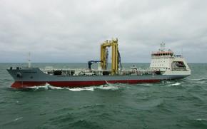 Картинка танкер, морской, средний, Академик Пашин