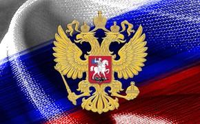 Картинка фон, флаг, Россия, Текстура
