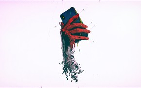 Картинка hand, phone, Jose Fernandez