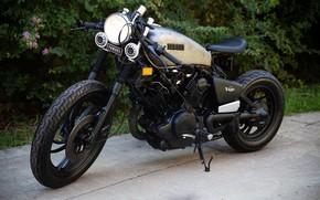 Картинка Yamaha, Bike, Scrambler, Virago, Yamaha XV750 Virago