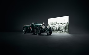 Картинка машина, ретро, Bentley, Blower