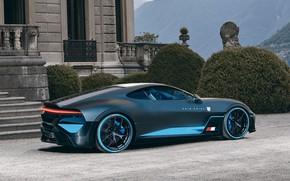 Картинка Авто, Машина, Bugatti, Car, Суперкар, Supercar, Concept Art, Спорткар, Sportcar, Rain Prisk, by Rain Prisk, …