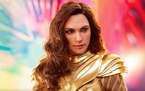 Картинка взгляд, девушка, волосы, герой, Wonder Woman, Галь Гадот, Gal Gadot, Чудо Женщина