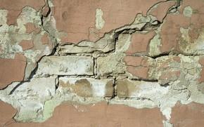 Картинка bricks, wall, hollow
