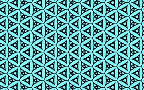 Картинка текстура, геометрия, голубой фон