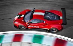 Картинка Ferrari, трек, Evo, GT3, 488, Ferrari 488