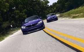 Картинка BMW, Purple, E92, Road, F84