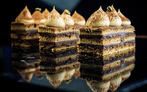 Картинка пирожное, крем, десерт, шоколадное, безе