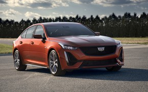 Картинка Cadillac, седан, четырёхдверный, 2020, 2019, CT5-V