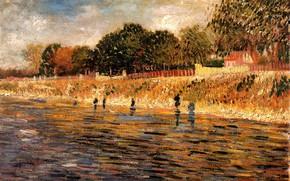 Картинка Винсент ван Гог, of the Seine, The Banks